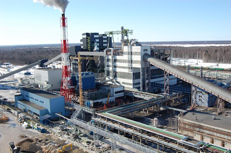 A March 2013 photo of the new, state-of-the-art Enefit280 oil shale refinery about to be launched in northeastern Estonia. A country of 1.3 million, Estonia aims to soon begin producing high-grade diesel fuel from oil shale that can be used in cars and trucks throughout Europe. Estonia annually produces 1-1.2 million barrels of shale oil, the liquid fuel refining oil shale, a rock. The new plant will have an annual capacity of approximately 2 million barrels. Estonia is attempting to export its unique technological expertise to shale-rich countries such as Jordan and the United States. Home to the creators of Skype and the first country to use online voting, Estonia relishes its image as a technological pioneer. But the tiny East European country's most far-reaching economic achievement could come from how it has learned to squeeze oil from a rock. (AP Photo/Gary Peach)