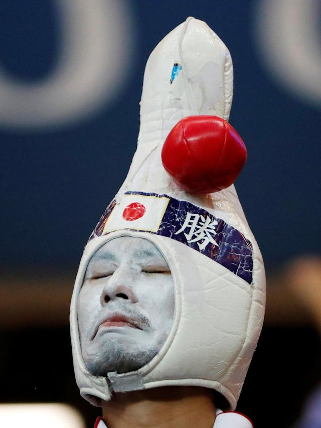 <p>Japan fan looks dejected after the match REUTERS/Jorge Silva </p>