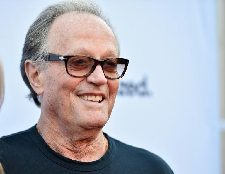 Actor Peter Fonda, pictured in June 2018 in Hollywood, has died at age 79