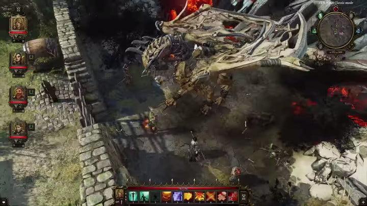 Divinity: Original Sin 2 early screenshot