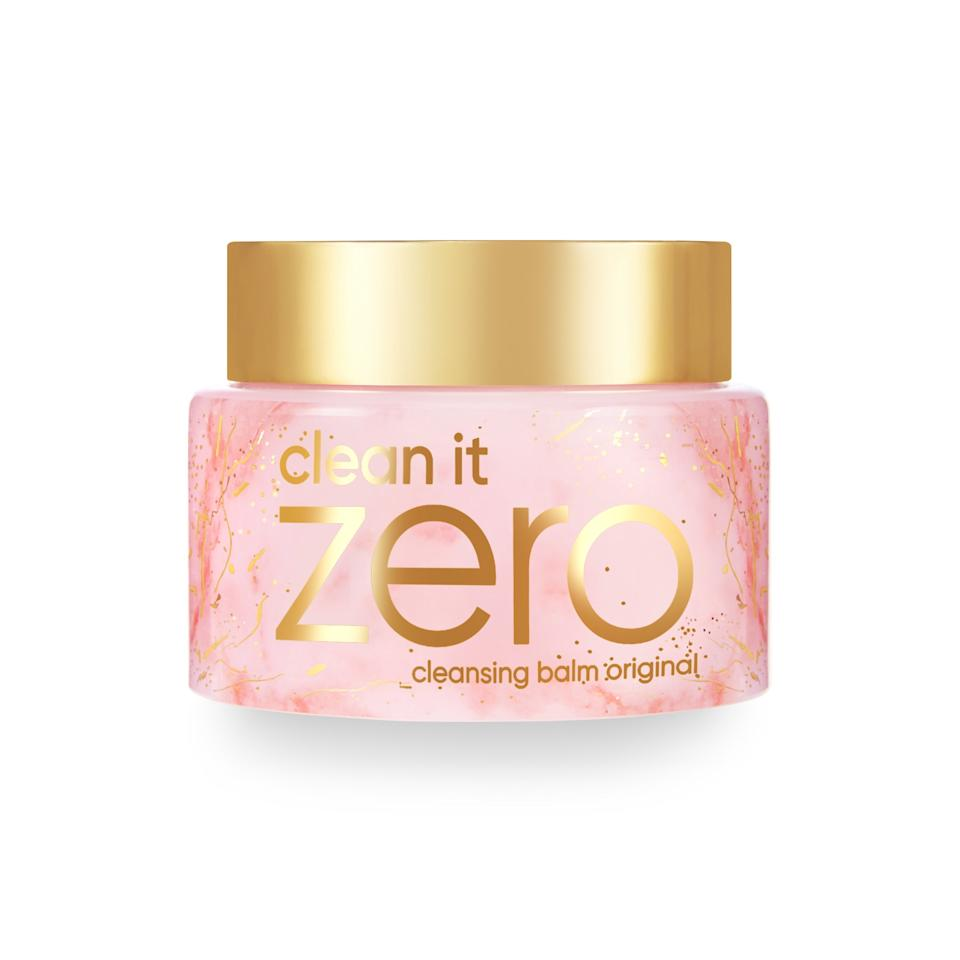 """<p>Considering a tub of Clean It Zero Cleansing Balm Original is <a href=""""https://www.allure.com/story/banila-co-sherbet-cleansing-balm-clean-it-zero-sold-every-three-seconds?mbid=synd_yahoo_rss"""">sold once every three seconds</a>, there's a decent chance you're already a fan of Banila Co's hero product. This new limited-edition launch is the same formula you (and pretty much everyone else) love, but it's packaged in the prettiest pink and gold marble-print jar that makes it a perfect gift for someone who has yet to experience its makeup-melting prowess.</p> <p><strong>$20</strong> (<a href=""""https://sokoglam.com/products/banila-co-clean-it-zero-cleansing-balm-original-limited-edition-marble-version"""" rel=""""nofollow"""">Shop Now</a>)</p>"""
