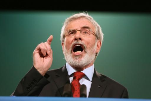 Ex-SF leader Adams' home attacked in N. Ireland unrest