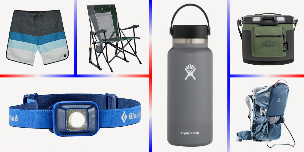 """<p>After spending the spring more or less cooped up at home, a summer adventure has probably never sounded better. If you've found a few holes in your gear closet as you prepare to hike, camp, paddle, or explore, you're in luck. REI Co-op's <a href=""""https://go.redirectingat.com?id=74968X1596630&url=https%3A%2F%2Fwww.rei.com%2Fh%2Ffourth-of-july-sale&sref=https%3A%2F%2Fwww.popularmechanics.com%2Fadventure%2Foutdoor-gear%2Fg33000200%2Frei-fourth-of-july-sale%2F"""" target=""""_blank"""">Fourth of July Sale</a> is a perfect time to score a great deal to round out your collection. Through July 6, save up to 30 percent on camping equipment, up to 30 percent on hiking and backpacking packs, and up to 50 percent on clothing, swimwear, shoes, and boots.</p><p>Just remember, the threat of <a href=""""https://www.popularmechanics.com/coronavirus"""">COVID-19 (coronavirus)</a> isn't over yet, and we can all do our part to stop the spread. Be sure to check local regulations before you hit the road, trail, or water. Maintain 6 feet of distance from others when possible, wear a <a href=""""https://www.popularmechanics.com/science/health/g32252066/where-to-buy-face-masks-online/"""">face mask</a>, and wash your hands regularly. </p>"""