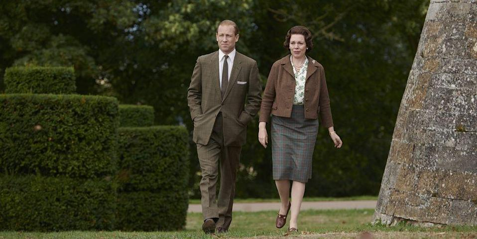 "<p>Following Foy and Smith's pay dispute, producer Suzanne Mackie <a href=""https://www.hollywoodreporter.com/live-feed/crown-will-embrace-salary-parity-star-claire-foy-earned-matt-smith-1094270"" rel=""nofollow noopener"" target=""_blank"" data-ylk=""slk:declared"" class=""link rapid-noclick-resp"">declared</a>, ""Going forward, no one gets paid more than the Queen."" Such was the case when <em>The Crown</em> introduced its new cast for Season 3, including Olivia Colman as Queen Elizabeth II and Tobias Menzies as Prince Philip. Ahead of the Season 3 premiere, Menzies revealed that he was <a href=""https://www.harpersbazaar.com/culture/film-tv/a29823547/tobias-menzies-paid-less-olivia-colman-the-crown/"" rel=""nofollow noopener"" target=""_blank"" data-ylk=""slk:paid less than his costar"" class=""link rapid-noclick-resp"">paid less than his costar</a>. </p><p>""It's an area that, as you may appreciate, I'm wary to step into,"" he <a href=""https://www.harpersbazaar.com/uk/culture/culture-news/a29469500/the-crown-3-tobias-menzies-paid-less-olivia-colman/"" rel=""nofollow noopener"" target=""_blank"" data-ylk=""slk:told Harper's BAZAAR UK"" class=""link rapid-noclick-resp"">told <em>Harper's BAZAAR UK</em></a>. ""I think broadly speaking, yes, greater transparency will lead to greater equality and that is absolutely the direction of travel that I think is necessary and good. It's interesting … my understanding is, that this time round, I'm paid less than Olivia.""</p>"