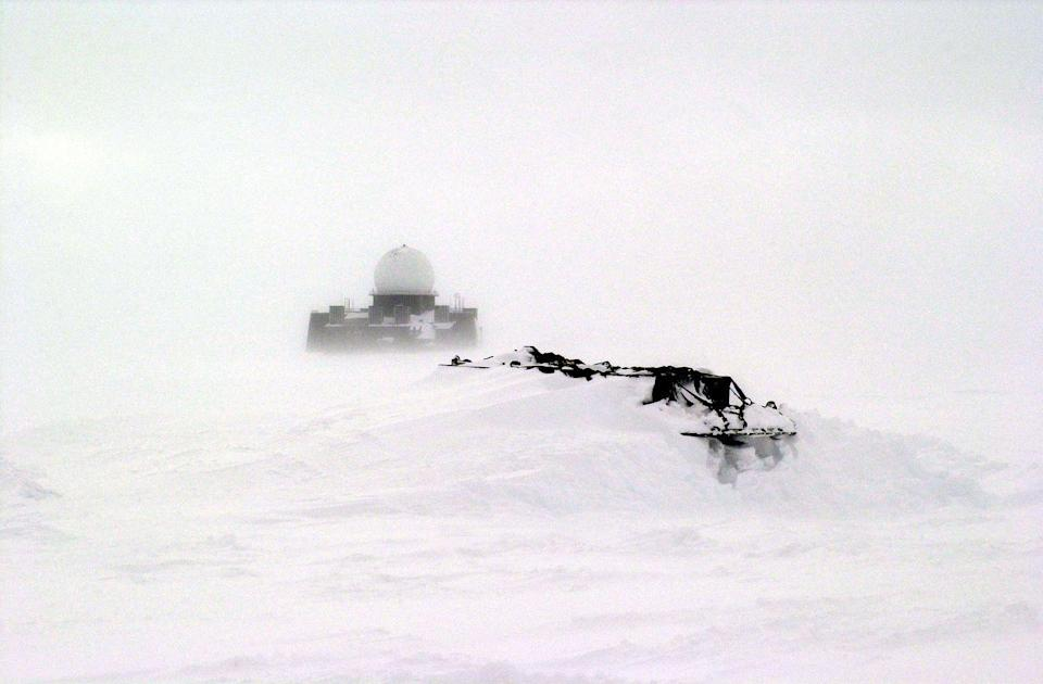 <p>Throughout the Cold War, the whole world watched expectantly. Even the Artic was involved; it employed a system called Distant Early Warning (DEW) meant to detect incoming bombs launched toward North America.</p><p>After the Cold War, the governments of the United States, Canada, Greenland (pictured), and Iceland ceased operations of the system and the dome-shaped structures were abandoned or dismantled.</p>