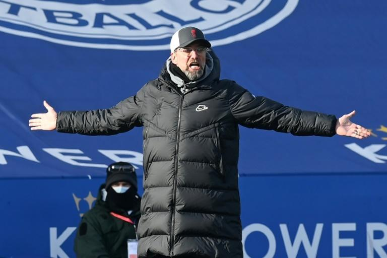 Jurgen Klopp's Liverpool are struggling just to make the Champions League next season after a third consecutive defeat at Leicester