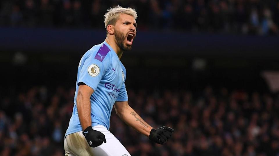 Agüero   Laurence Griffiths/Getty Images