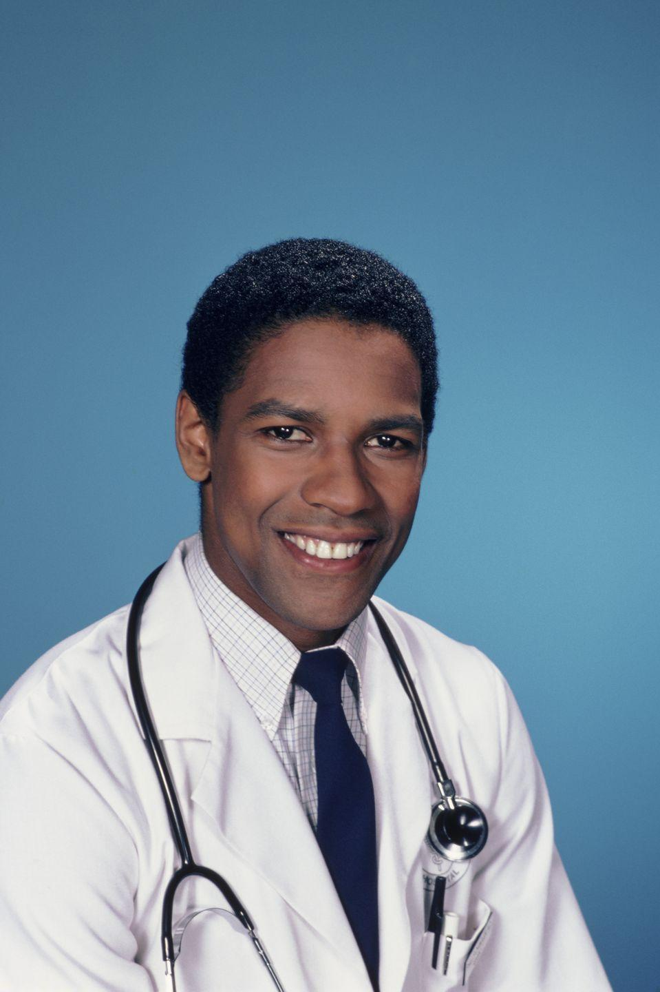 <p>Washington's big break came in the '80s, when he starred as Dr. Phillip Chandler in NBC's hospital drama <em>St. Elsewhere.</em></p>