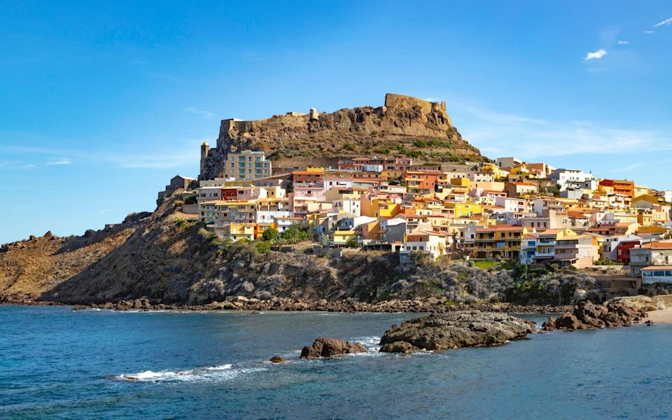 """Sardinia is Italy's first """"white zone"""" - Getty"""