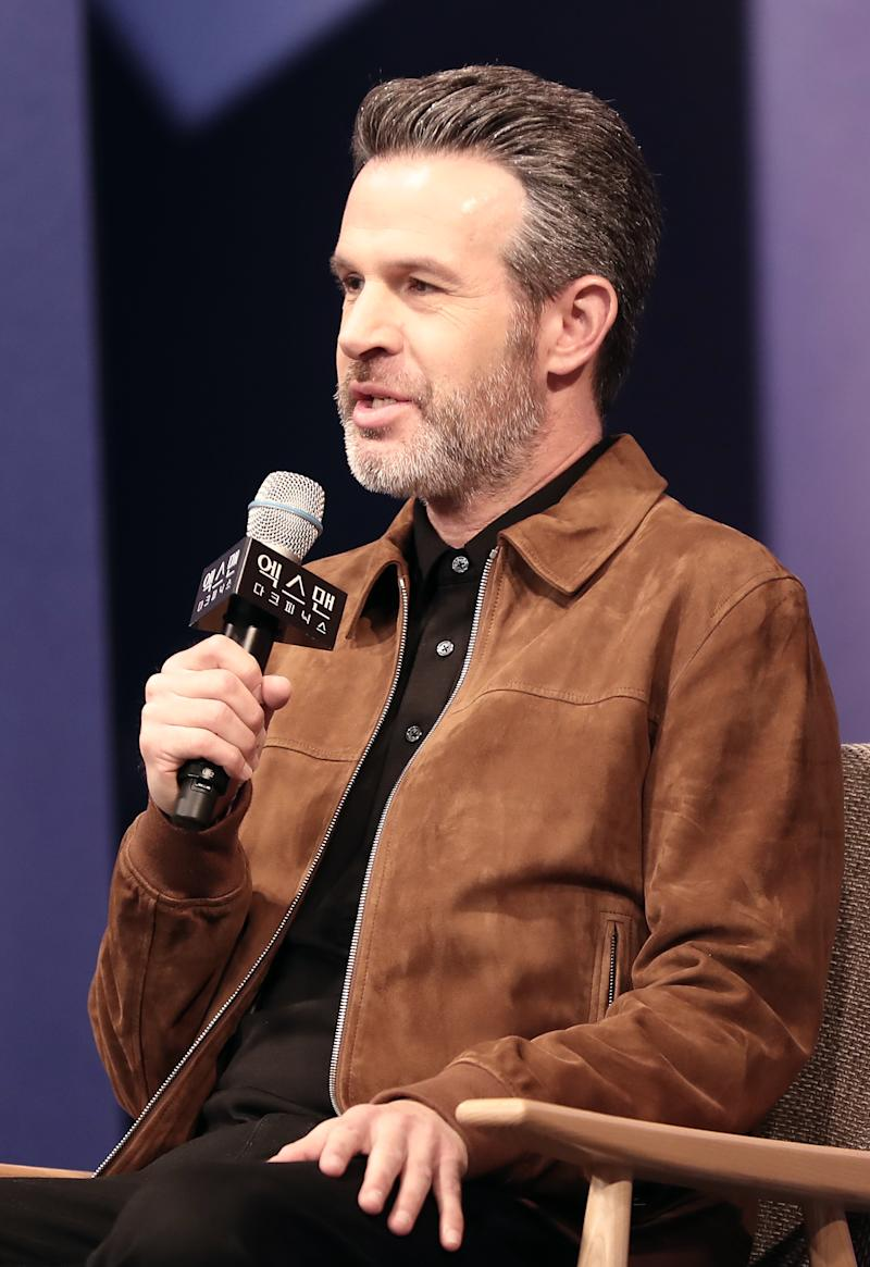 SEOUL, SOUTH KOREA - MAY 27: Director Simon Kinberg speaks during the press conference for 'X-Men : Dark Phoenix' South Korea premier on May 27, 2019 in Seoul, South Korea.(Photo by JTBC PLUS/Imazins via Getty Images)