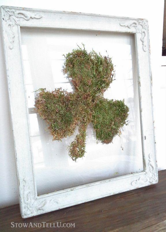 """<p>Thanks to step-by-step instructions—and a free clover leaf image—making this creative, framed moss shamrock is a snap.</p><p><strong>Get the tutorial at <a href=""""https://stowandtellu.com/diy-framed-moss-shamrock-on-glass/"""" rel=""""nofollow noopener"""" target=""""_blank"""" data-ylk=""""slk:Stow and Tell U"""" class=""""link rapid-noclick-resp"""">Stow and Tell U</a>.</strong></p><p><a class=""""link rapid-noclick-resp"""" href=""""https://go.redirectingat.com?id=74968X1596630&url=https%3A%2F%2Fwww.walmart.com%2Fsearch%2F%3Fquery%3Dfloating%2Bglass%2Bframes&sref=https%3A%2F%2Fwww.thepioneerwoman.com%2Fhome-lifestyle%2Fcrafts-diy%2Fg34931626%2Fst-patricks-day-decorations%2F"""" rel=""""nofollow noopener"""" target=""""_blank"""" data-ylk=""""slk:SHOP FLOATING GLASS FRAMES"""">SHOP FLOATING GLASS FRAMES</a><br></p>"""