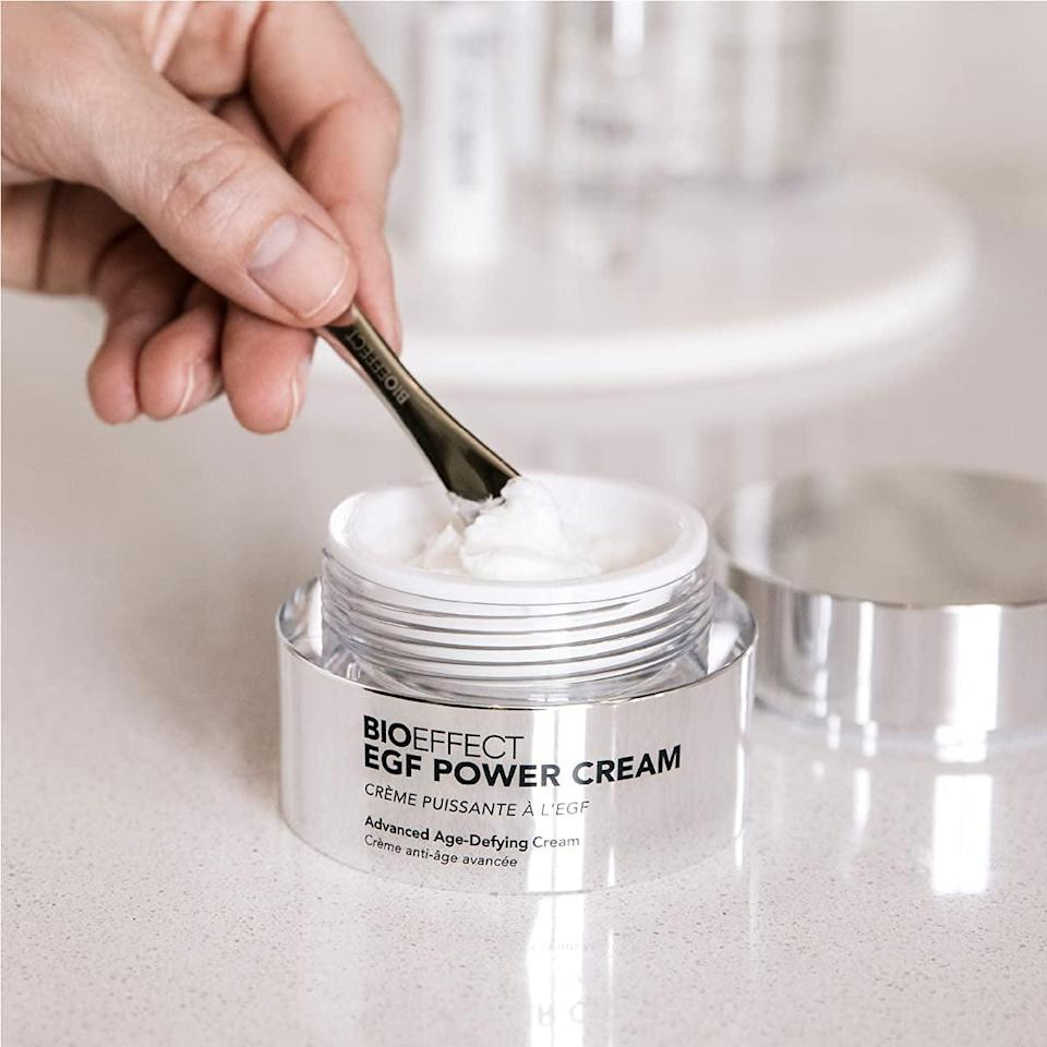 """<p>""""I've wanted to streamline my extensive skin-care routine for a while, and this <span>Bioeffect EGF Power Cream Anti-Aging Facial Moisturizer</span> ($215) is just the workhorse product I've been looking for. It's packed with antioxidants and a special cell-rejuvenating protein derived from barley. After just a few weeks, my pores look smaller and dark spots look lighter - and this is the only product I'm using after cleansing."""" - Dawn Davis, executive director, Beauty </p>"""