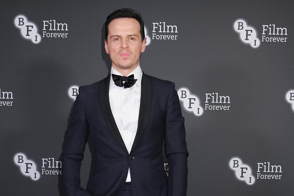 LONDON, ENGLAND - MARCH 06:  Andrew Scott attends the BFI Chairman's Dinner honouring Olivia Colman with the BFI Fellowship at Rosewood London on March 6, 2019 in London, England. (Photo by David M. Benett/Dave Benett/Getty Images)