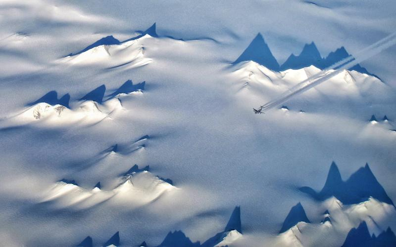 Antarctica from the air - Getty