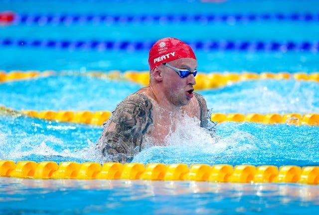Adam Peaty hailed the culture and ethos within British Swimming (Adam Davy/PA)