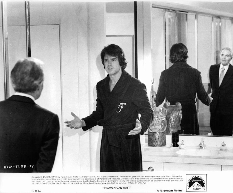 <p>Warren Beatty's first crack at being both the lead role and the one in the director's chair was in the 1978 film, <em>Heaven Can Wait</em>. The actor appeared opposite Julie Christie (who also was his girlfriend at the time) and the film was an instant hit. The actor continued to direct and act, releasing <em>Reds, Bulworth</em> and<em> Dick Tracy</em> in the years to follow.</p>