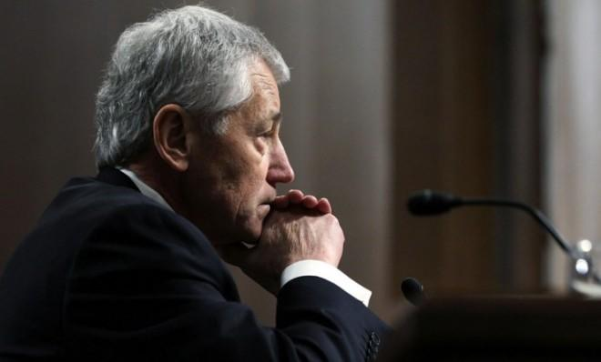 Chuck Hagel: Trapped in political limbo.