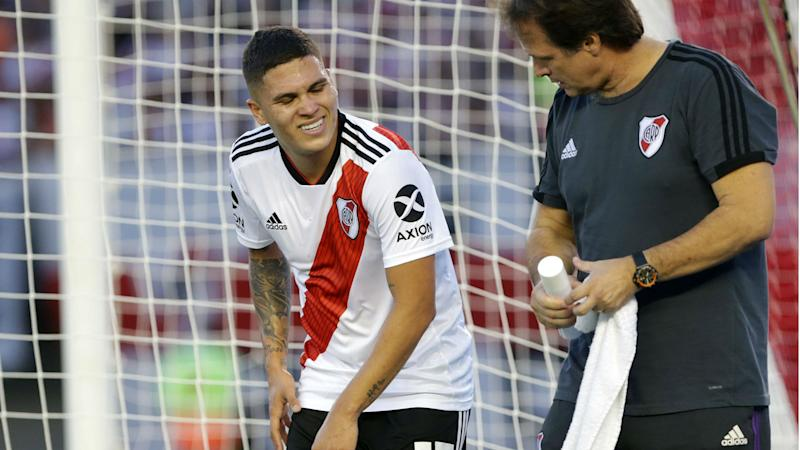 3b12955e3e9 River Plate star Quintero suffers ruptured ACL