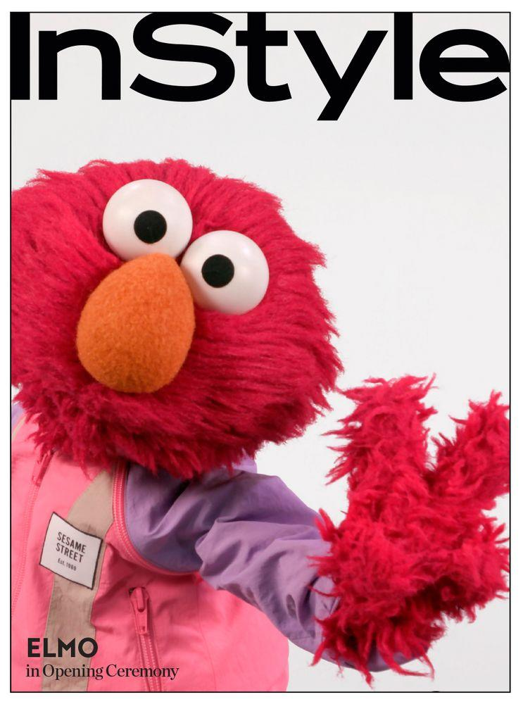 Sesame Street Characters Get Fashion Makeovers From Instyle