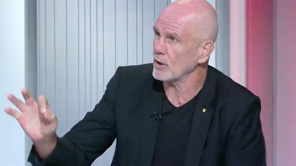 Pictured here, former Wallabies player and media identity Peter FitzSimons.