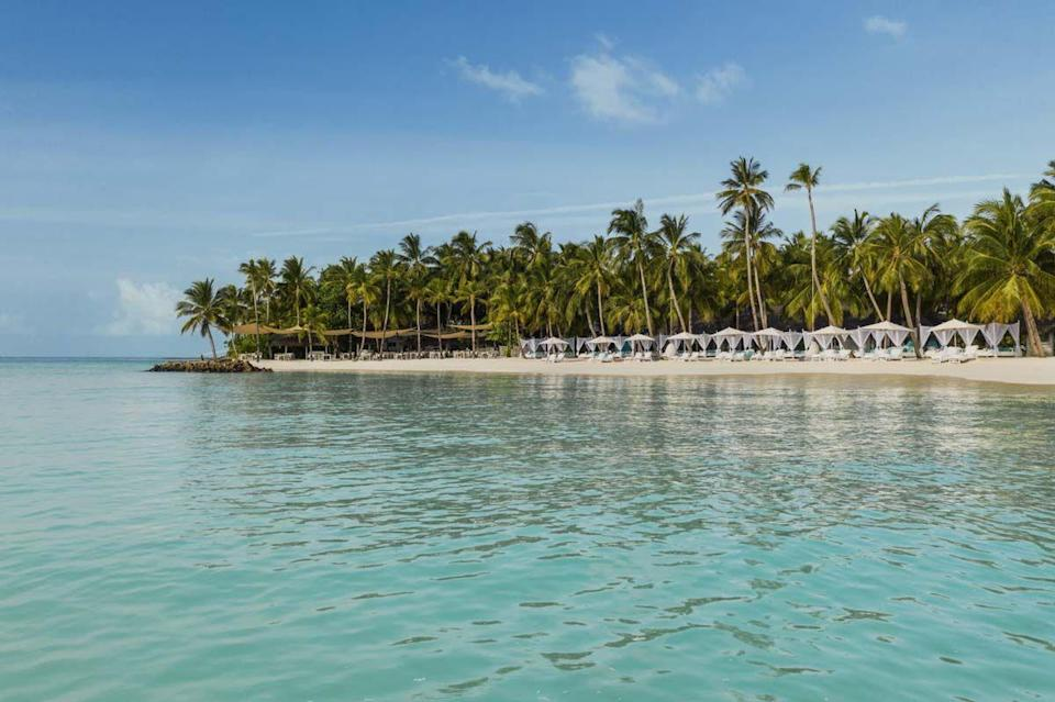 """<p>This celebrity-favorite resort is also a favorite of Greenfield-Turk and his clients, as it offers the ultimate romantic getaway. <a href=""""https://www.oneandonlyresorts.com/reethi-rah"""" rel=""""nofollow noopener"""" target=""""_blank"""" data-ylk=""""slk:One&Only Reethi Rah"""" class=""""link rapid-noclick-resp"""">One&Only Reethi Rah</a> is spread across nearly four pristine miles of private coastline, and each villa has its own exclusive slice of paradise. Plus, the resort boasts a stellar roster of curated experiences, from seven-course moonlit picnics to private yacht charters to scuba dive in the world's most beautiful waters.</p><p>""""Offering guests an opportunity for absolute isolation and seclusion coupled with the renowned One&Only service and product this island resort is second to none,"""" says Greenfield-Turk. """"One would be hard-pressed to find fault given all that one can do when staying here.""""<br></p>"""