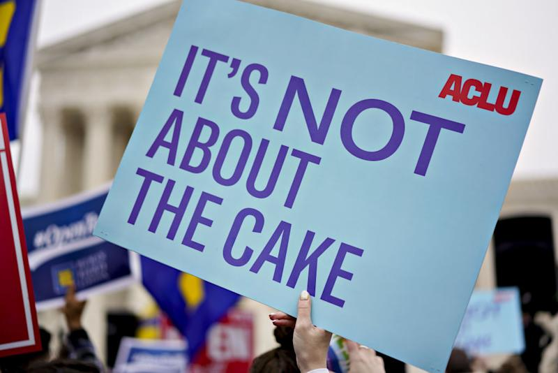 """Here's what the Supreme Court's """"gay wedding cake"""" case is actually a fight about"""