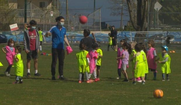 Local parents are upset their children's soccer program in Slocan Park is being forced to move to another park 30 bocks away. (Doug Kerr/CBC - image credit)