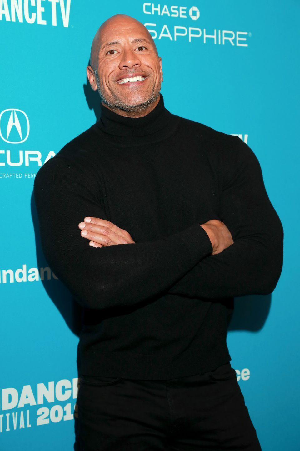 """<p>The actor <a href=""""https://www.today.com/health/dwayne-rock-johnson-shares-inspiring-message-people-depression-t56586"""" rel=""""nofollow noopener"""" target=""""_blank"""" data-ylk=""""slk:opened up about some of his struggles with depression"""" class=""""link rapid-noclick-resp"""">opened up about some of his struggles with depression</a> in a video created for the Oprah Winfrey Network. In it, he credits God for seeing him through some of the darker moments in his life, and offered advice to others who may be experiencing similar struggles: """"Hold onto that fundamental quality of faith. Have faith that on the other side of your pain is something good.""""</p>"""