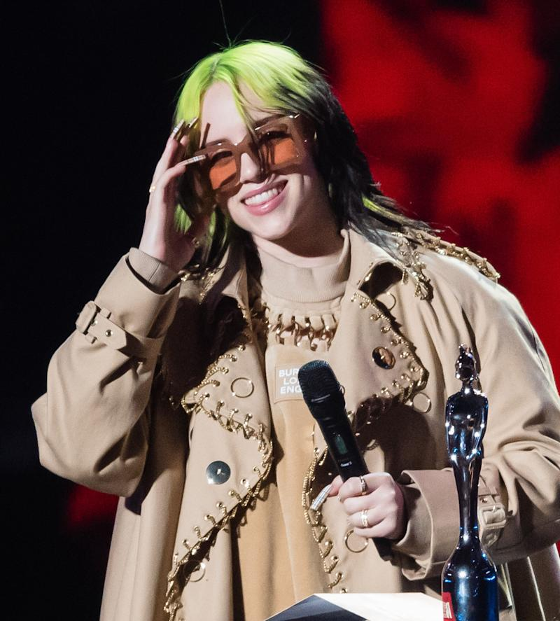 Billie Eilish (Photo: Samir Hussein via Getty Images)