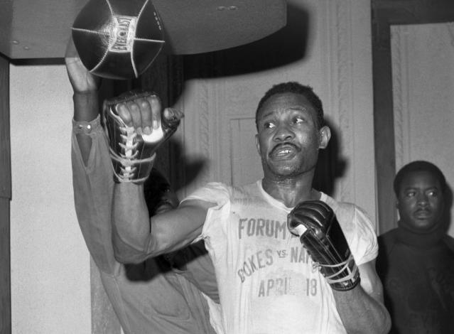 Curtis Cokes was inducted into the International Boxing Hall of Fame in 2003. (AP Photo, File)