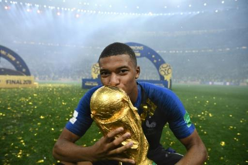 Mbappe was one of the stars of France's victorious World Cup campaign, scoring four goals