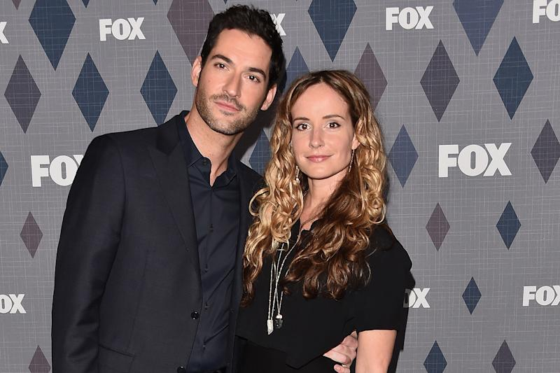 Lucifer Star Tom Ellis Marries Longtime Girlfriend, Writer Meaghan Oppenheimer