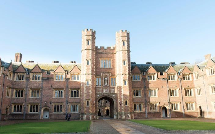 St John's College is where Prince William, Duke of Cambridge studied Agricultural Management - Mark Cuthbert/UK Press