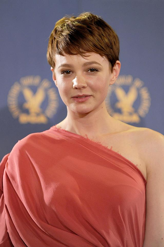 "<a href=""http://movies.yahoo.com/movie/contributor/1808686699"">Carey Mulligan</a> at the 62nd Annual Directors Guild of America Awards in Century City, California on January 30, 2010."