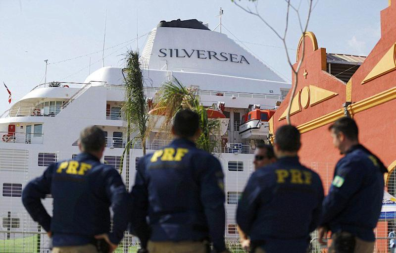 In a country already concerned with security, 250 Brazilian federal agents have been dispatched to protect American basketballers and their rented luxury liner. Source: Reuters