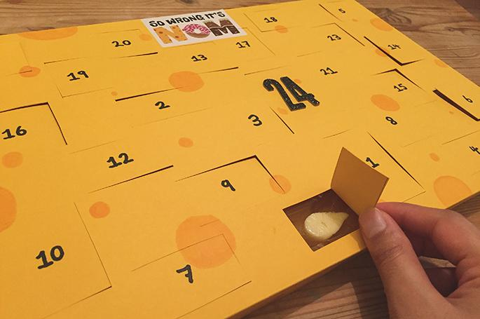 Forget chocolate — there's now a CHEESE advent calendar this holiday season