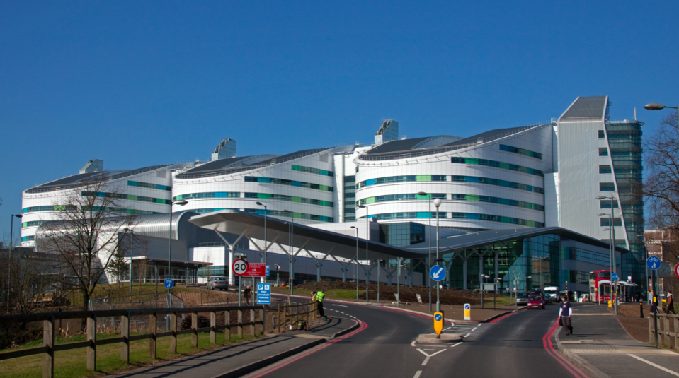 The Queen Elizabeth Hospital Birmingham is one of the hospitals that has temporarily suspended kidney transplants. (Wikipedia)