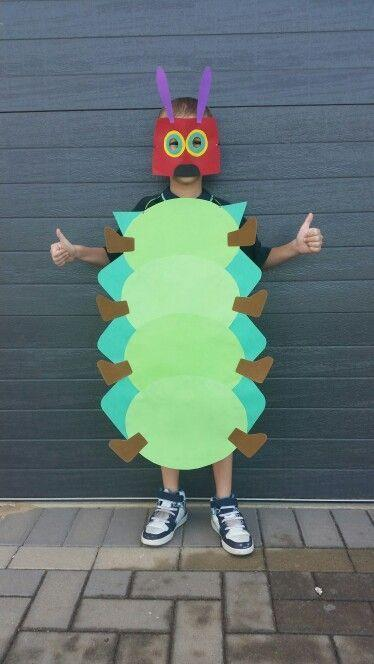 <p>This awesome DIY Halloween costume is made entirely out of construction paper — so grab some scissors and get to cutting.</p>