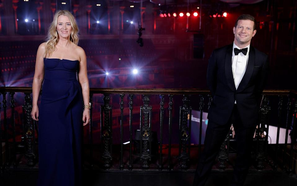 The lack of an audience didn't feel any weirder than the absence of any tangible chemistry between hosts Edith Bowman and Dermot O'Leary - Reuters