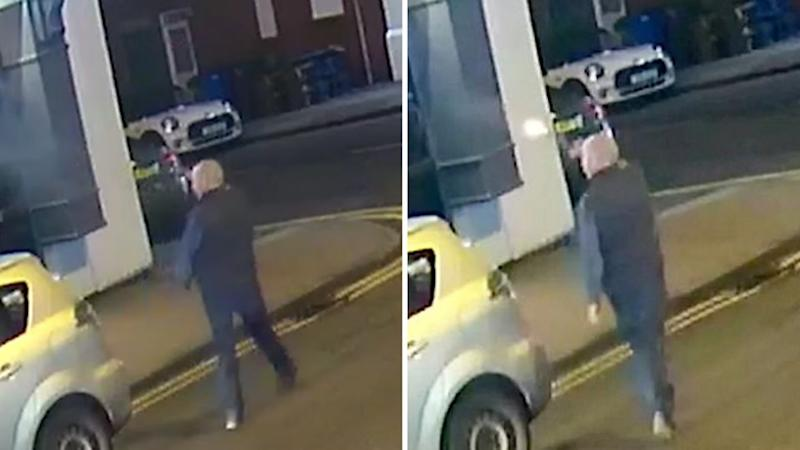 Embley was filmed firing at the pub after being turned away for being too intoxicated. Source: West Midlands Police
