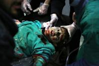 The team in 'The Cave' were often the first to respond and the last hope for civilian victims -- many of them children -- hit by relentless waves of Russian and Syrian regime bombing