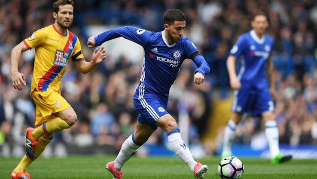 <p><strong>Number of take-ons this season: 126</strong></p> <br><p>Heading to what looks likely to be his second Premier League title in three years, Hazard's contribution to Chelsea's success this year has been instrumental and it's no coincidence that a drop in form last season coincided with the Blues' worst finish in decades.</p> <br><p>The Belgian superstar is renowned for attacking defenders with aplomb and this campaign has been no different, with the 26-year-old passing the 125 mark recently. His constant desire to give full backs a hellish experience has helped him grab 14 goals and five assists. </p>