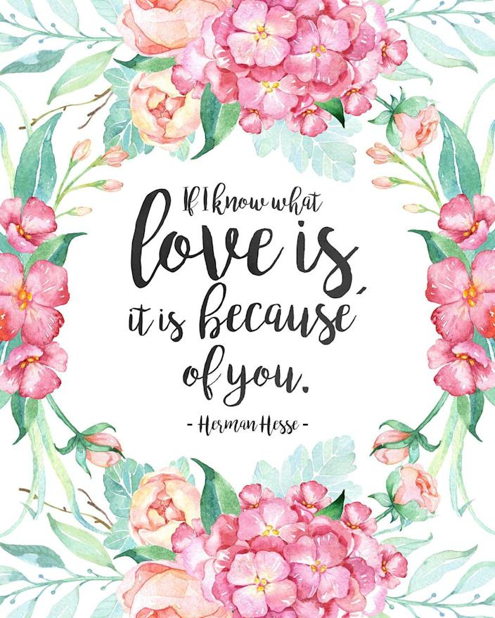 """<p>This sweet message is sure to bring tears to her eyes.</p><p><strong>Get the printable at <a href=""""http://thecottagemarket.com/2016/05/free-printable-mothers-day-prints-and-greeting-cards.html"""" rel=""""nofollow noopener"""" target=""""_blank"""" data-ylk=""""slk:The Cottage Market"""" class=""""link rapid-noclick-resp"""">The Cottage Market</a></strong><strong>.</strong></p>"""