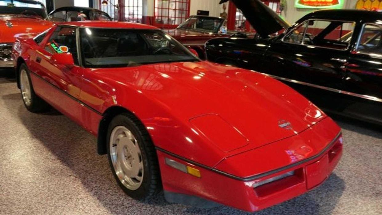 1989 C4 Corvette In Bright Red Dares To Be Ignored