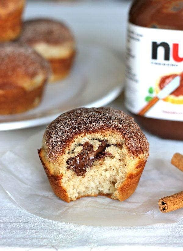 "<p>So it's like a churro with Nutella inside? DOWN.</p><p>Get the recipe from <a href=""http://damndelicious.net/2012/08/06/muffinmonday-nutella-stuffed-cinnamon-sugar-muffins/"" rel=""nofollow noopener"" target=""_blank"" data-ylk=""slk:Damn Delicious"" class=""link rapid-noclick-resp"">Damn Delicious</a>.</p>"