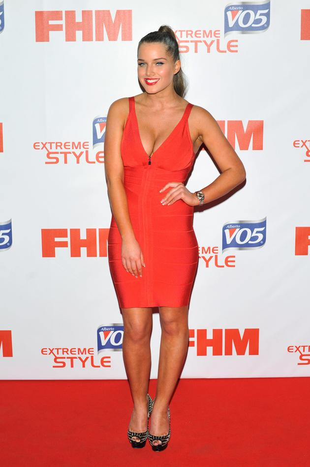 Sexy Helen Flanagan pics: Helen earns her spot on the FHM 100 sexiest women list. [Wenn]