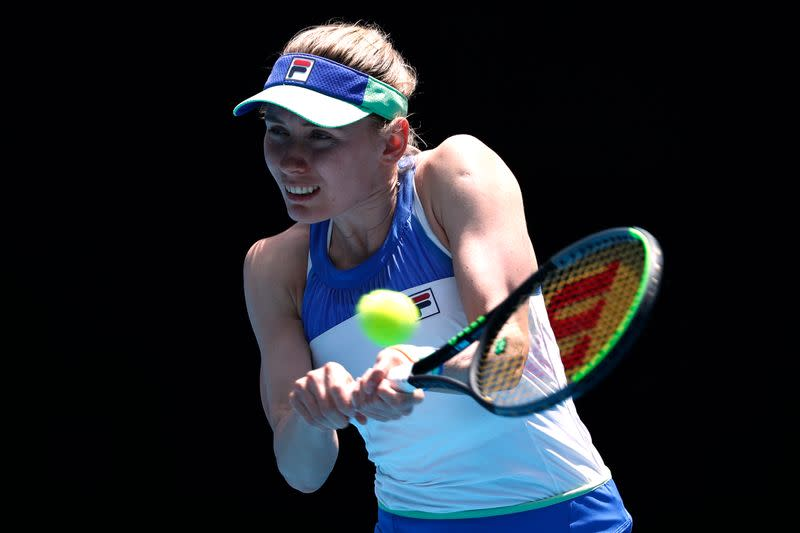 Russia's Alexandrova knocked out by Ferro at Palermo Open