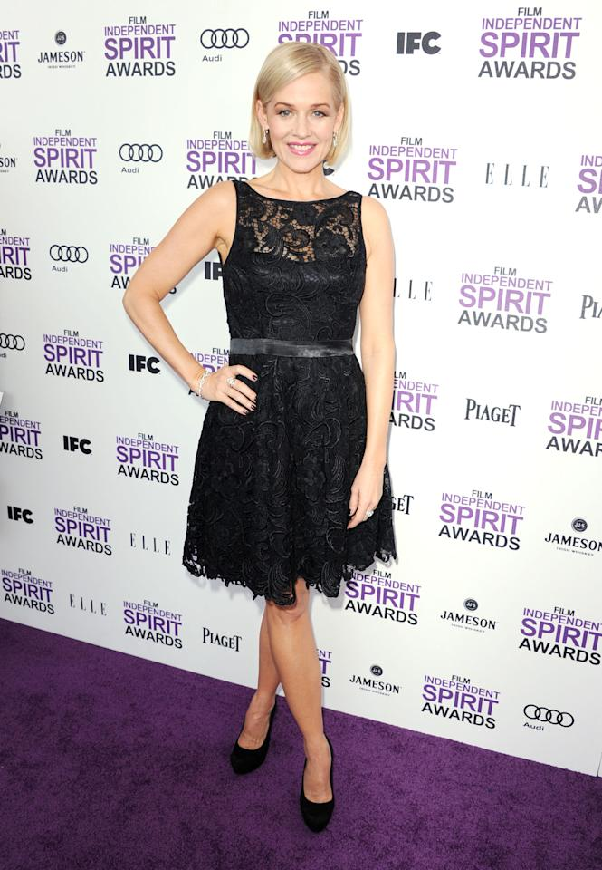 SANTA MONICA, CA - FEBRUARY 25:  Actress Penelope Ann Miller arrives at the 2012 Film Independent Spirit Awards on February 25, 2012 in Santa Monica, California.  (Photo by Kevin Winter/Getty Images)