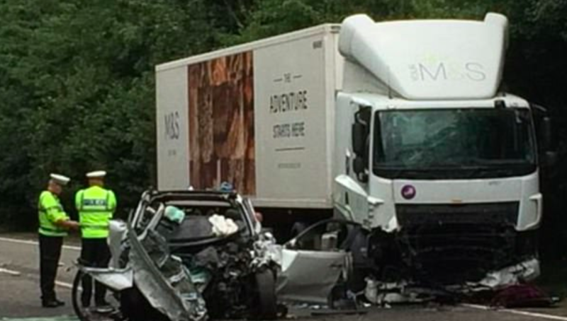 Children killed with mother in Devon crash were twins