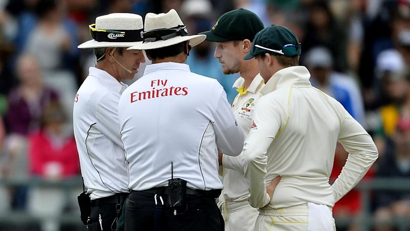 Bancroft caught up in ball-tampering row
